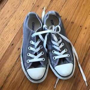 Size5 Grey Converse